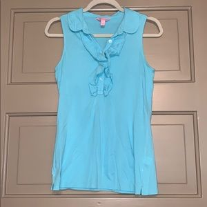 Lilly Pulitzer Blue Blouse